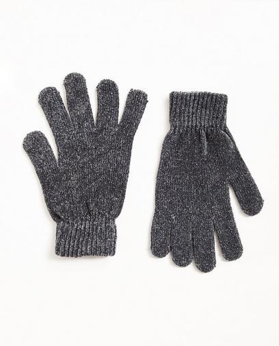 Blaugraue Handschuhe